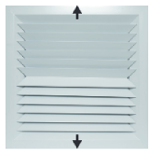 Picture of Lay-In 2-Way Opposite Blow Diffuser