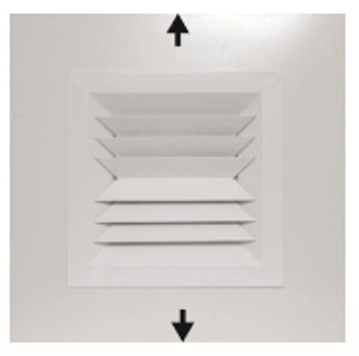 Picture of Plaque 2-Way Opposite Blow Diffuser
