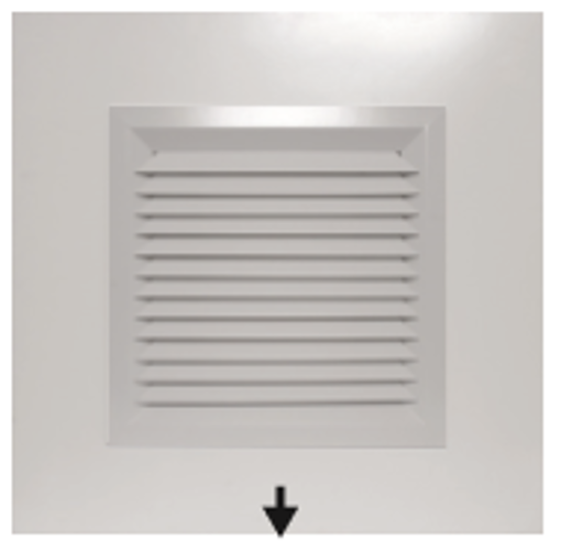 Picture of Plaque 1-Way Blow Diffuser