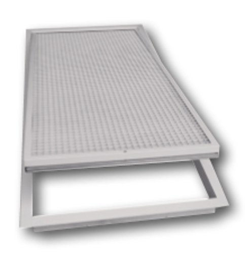 Picture of Hinged Return Air Grilles c/w Filter