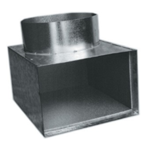 Picture of Side Boot - Spigot on Long Side (Height = Spigot Size + 125mm)