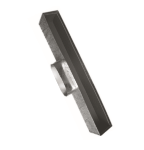 Picture of Linear Box Side Entry to Suit Rem/Core (20 mm) 2 & 3 Slot Linear Diffusers