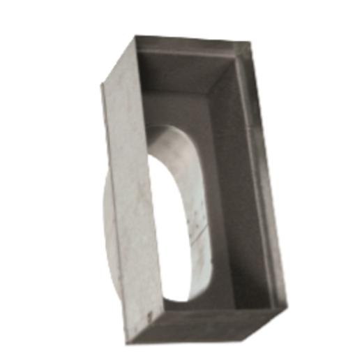 图片 Uni Boot Top Entry to Suit Rem/Core (20 mm) 2 & 3 Slot Linear Diffusers (Height = 150mm)